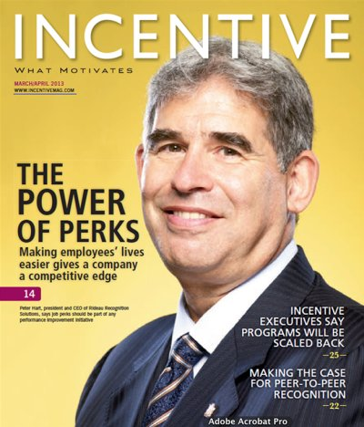 "Awarded ""Manufacturers Rep - Outstanding Business Development"" by Incentive Magazine"